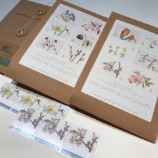 6 x Flower Notecards PACK 2