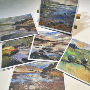 8 x Oil Painting Cards  NEW!